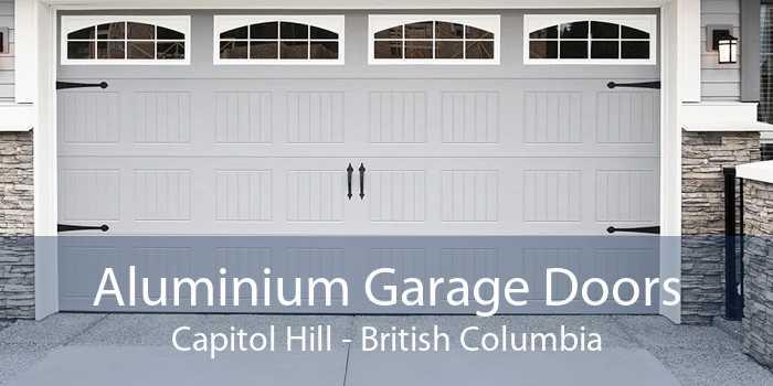 Aluminium Garage Doors Capitol Hill - British Columbia