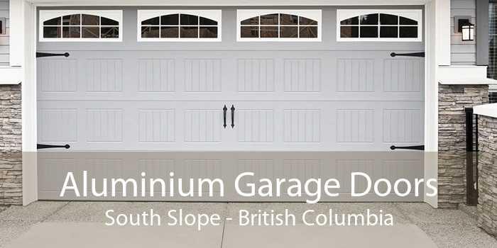 Aluminium Garage Doors South Slope - British Columbia