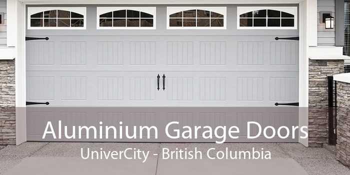Aluminium Garage Doors UniverCity - British Columbia