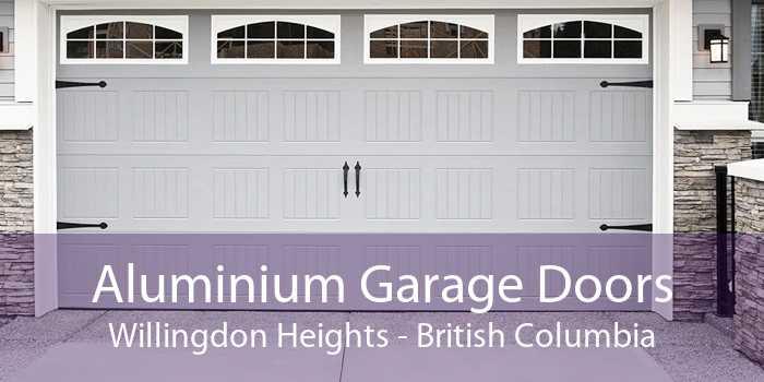 Aluminium Garage Doors Willingdon Heights - British Columbia