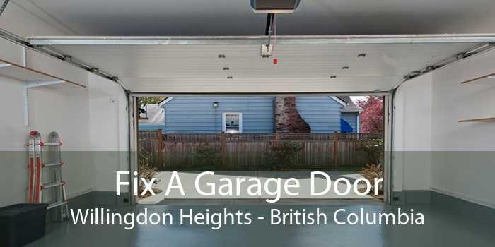 Fix A Garage Door Willingdon Heights - British Columbia