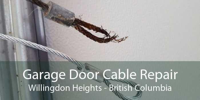Garage Door Cable Repair Willingdon Heights - British Columbia
