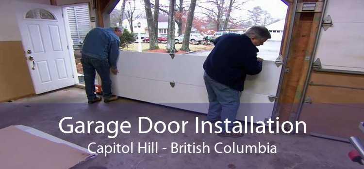 Garage Door Installation Capitol Hill - British Columbia