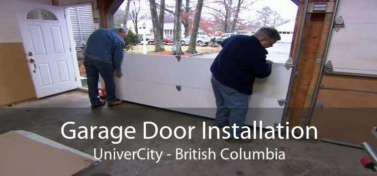 Garage Door Installation UniverCity - British Columbia