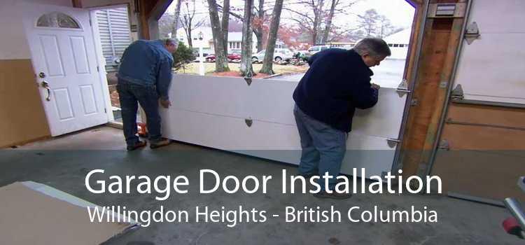 Garage Door Installation Willingdon Heights - British Columbia