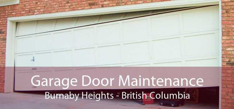 Garage Door Maintenance Burnaby Heights - British Columbia