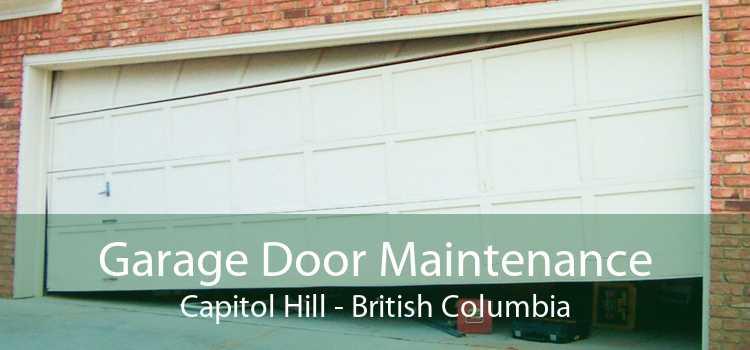 Garage Door Maintenance Capitol Hill - British Columbia