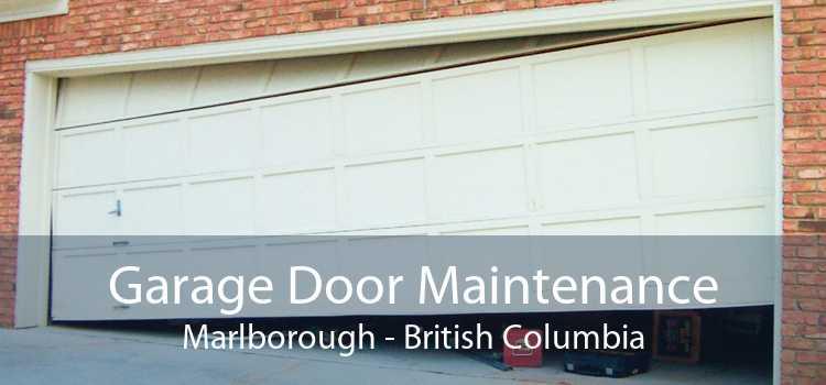 Garage Door Maintenance Marlborough - British Columbia
