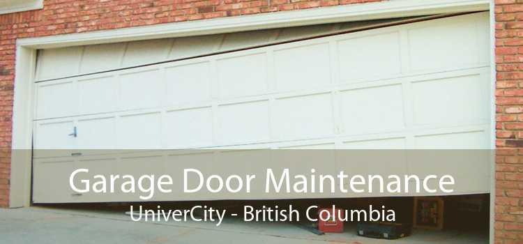 Garage Door Maintenance UniverCity - British Columbia