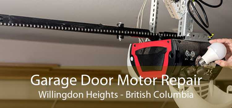 Garage Door Motor Repair Willingdon Heights - British Columbia