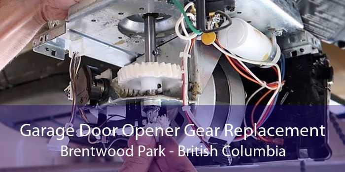 Garage Door Opener Gear Replacement Brentwood Park - British Columbia