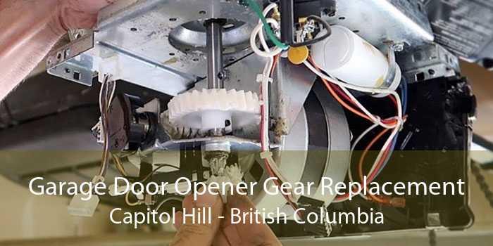 Garage Door Opener Gear Replacement Capitol Hill - British Columbia