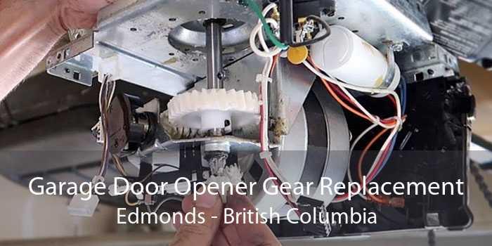 Garage Door Opener Gear Replacement Edmonds - British Columbia