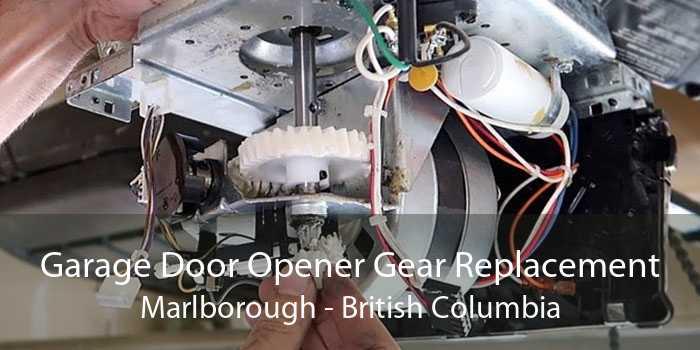 Garage Door Opener Gear Replacement Marlborough - British Columbia