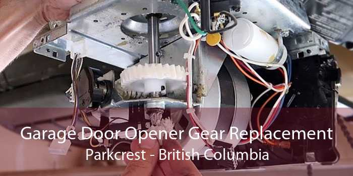 Garage Door Opener Gear Replacement Parkcrest - British Columbia