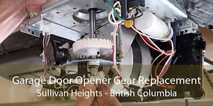 Garage Door Opener Gear Replacement Sullivan Heights - British Columbia