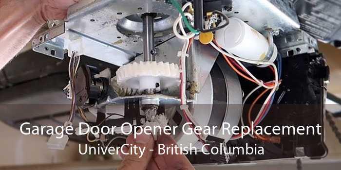 Garage Door Opener Gear Replacement UniverCity - British Columbia
