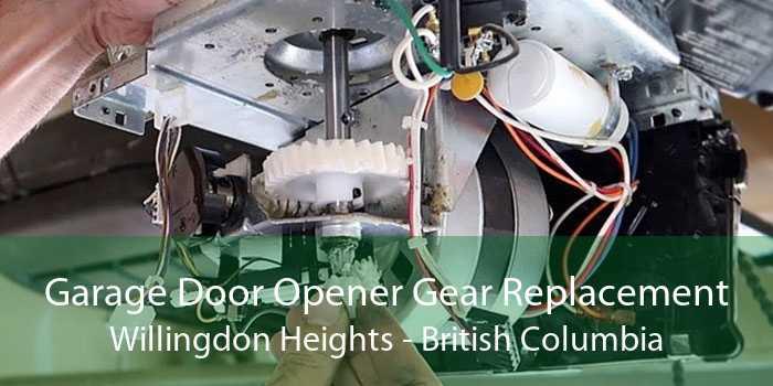 Garage Door Opener Gear Replacement Willingdon Heights - British Columbia
