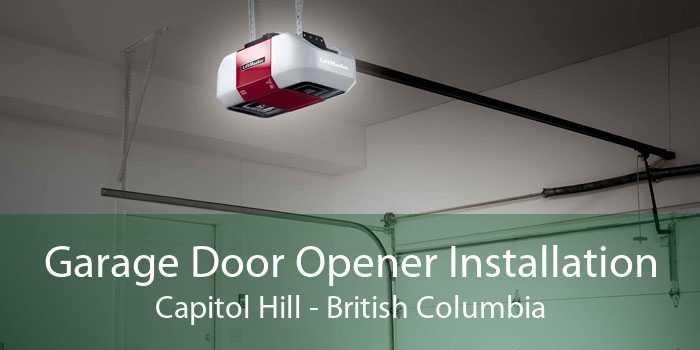 Garage Door Opener Installation Capitol Hill - British Columbia