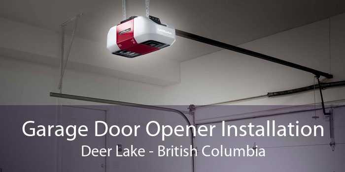 Garage Door Opener Installation Deer Lake - British Columbia