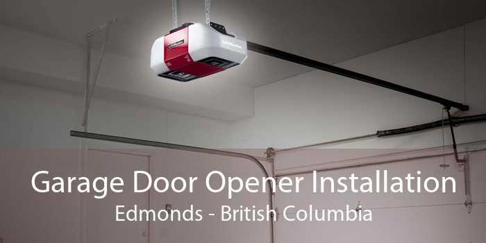 Garage Door Opener Installation Edmonds - British Columbia