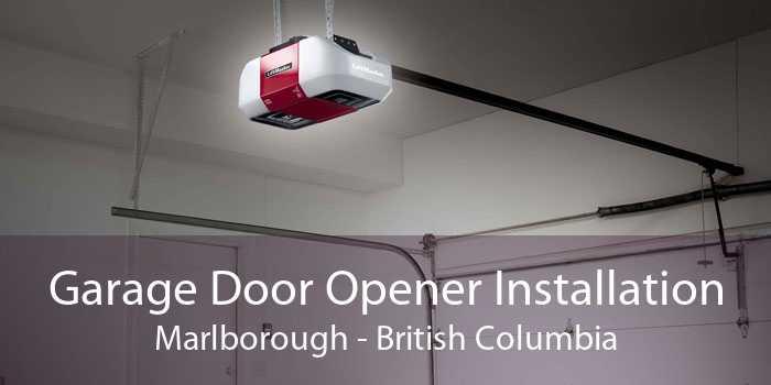 Garage Door Opener Installation Marlborough - British Columbia