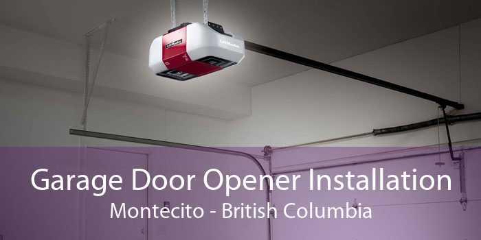 Garage Door Opener Installation Montecito - British Columbia