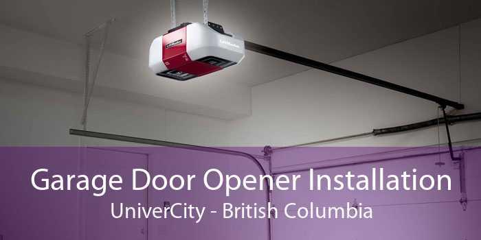 Garage Door Opener Installation UniverCity - British Columbia
