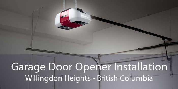 Garage Door Opener Installation Willingdon Heights - British Columbia