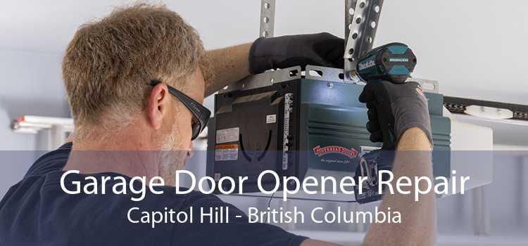 Garage Door Opener Repair Capitol Hill - British Columbia