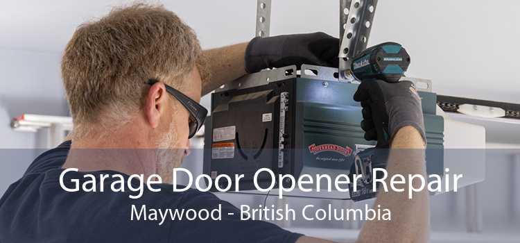Garage Door Opener Repair Maywood - British Columbia