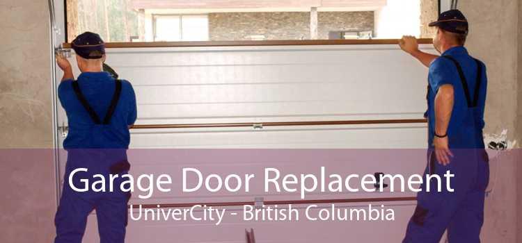Garage Door Replacement UniverCity - British Columbia
