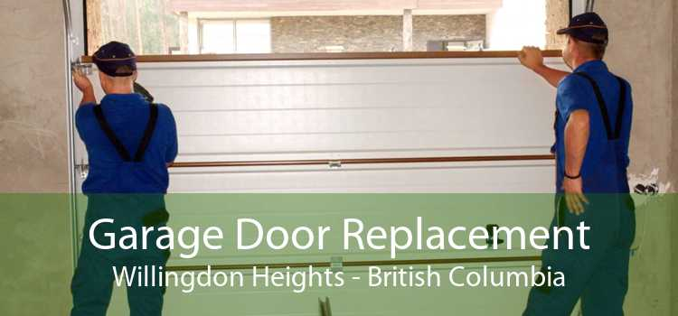 Garage Door Replacement Willingdon Heights - British Columbia