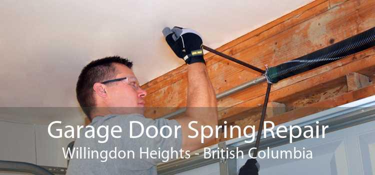 Garage Door Spring Repair Willingdon Heights - British Columbia