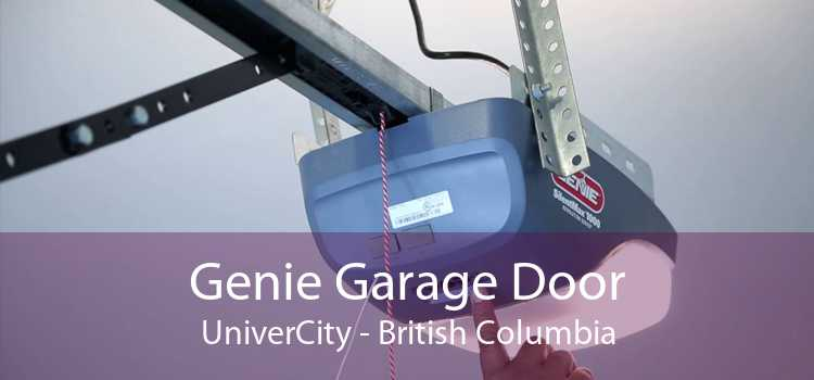 Genie Garage Door UniverCity - British Columbia