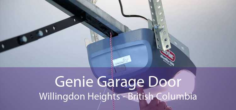 Genie Garage Door Willingdon Heights - British Columbia