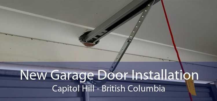 New Garage Door Installation Capitol Hill - British Columbia