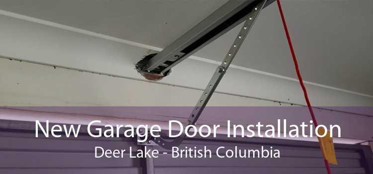 New Garage Door Installation Deer Lake - British Columbia