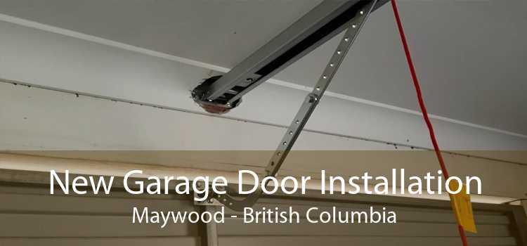 New Garage Door Installation Maywood - British Columbia
