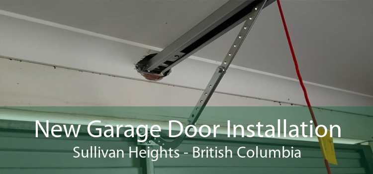 New Garage Door Installation Sullivan Heights - British Columbia