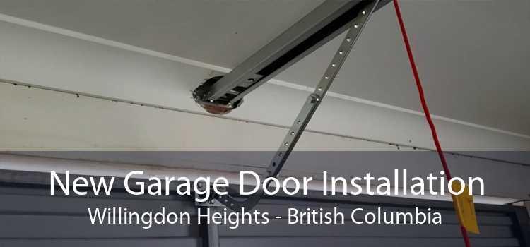 New Garage Door Installation Willingdon Heights - British Columbia
