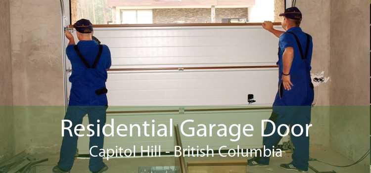 Residential Garage Door Capitol Hill - British Columbia
