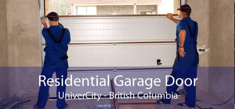 Residential Garage Door UniverCity - British Columbia
