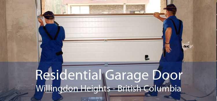 Residential Garage Door Willingdon Heights - British Columbia