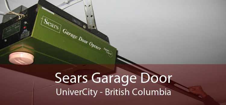 Sears Garage Door UniverCity - British Columbia