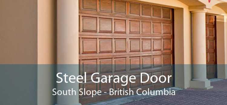 Steel Garage Door South Slope - British Columbia