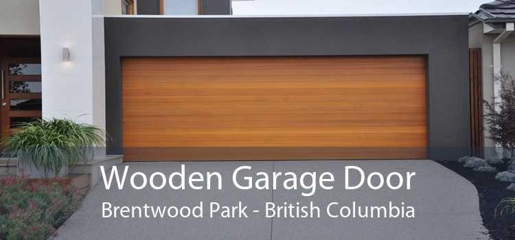Wooden Garage Door Brentwood Park - British Columbia