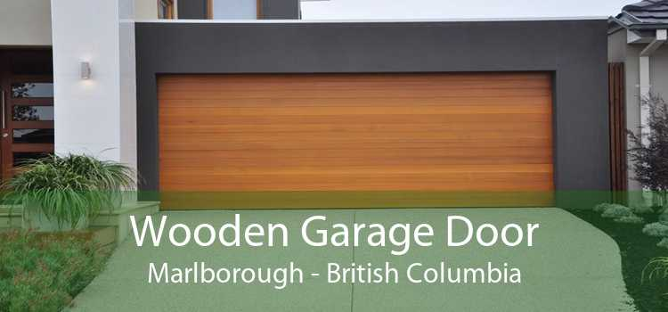 Wooden Garage Door Marlborough - British Columbia