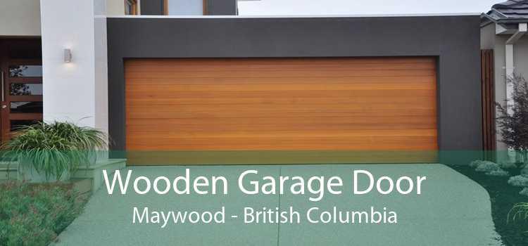 Wooden Garage Door Maywood - British Columbia