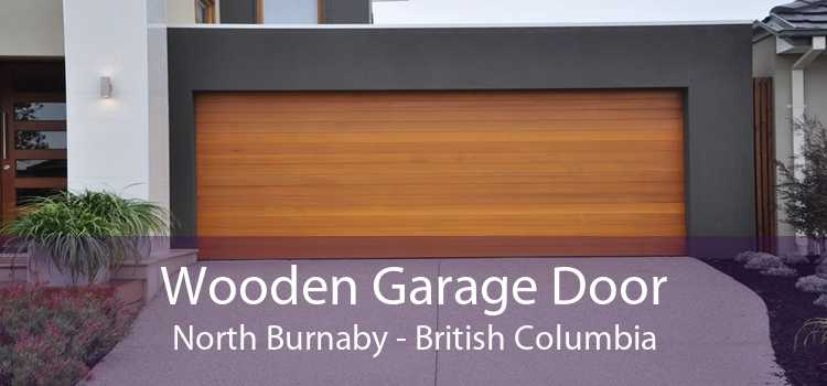Wooden Garage Door North Burnaby - British Columbia